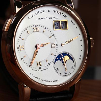 朗格lange 1月相腕表109.032 18k玫瑰金 男士手表